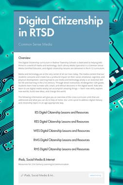 Digital Citizenship in RTSD