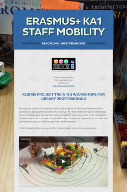 ERASMUS+ KA1 STAFF MOBILITY