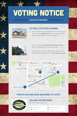 VOTING NOTICE