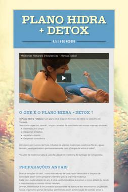 Plano Hidra + Detox