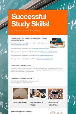 Successful Study Skills!