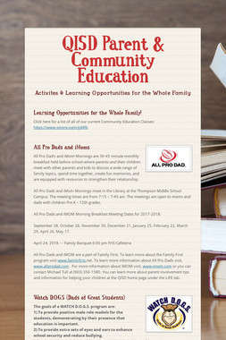 QISD Parent & Community Education