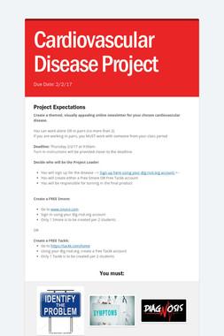 Cardiovascular Disease Project