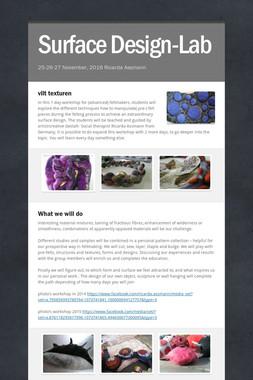 Surface Design-Lab