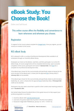 eBook Study: You Choose the Book!