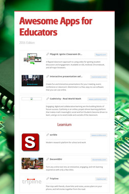 Awesome Apps for Educators