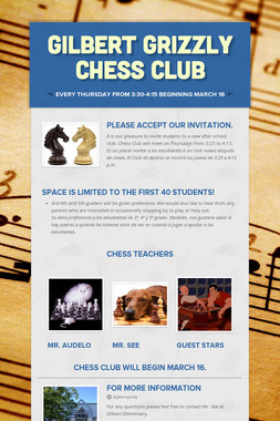 Gilbert Grizzly Chess Club