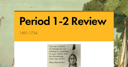 Period 1-2 Review | Smore Newsletters