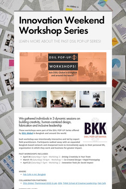 Innovation Weekend Workshop Series