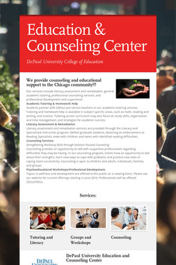 Education & Counseling Center