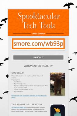 Spooktacular Tech Tools