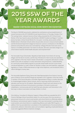 2015 SSW of the Year Awards