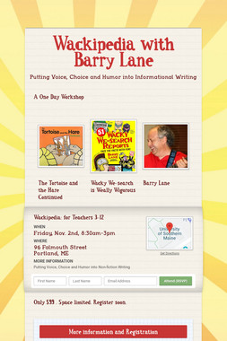 Wackipedia with Barry Lane