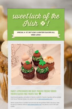 sweet luck of the Irish 🍀!