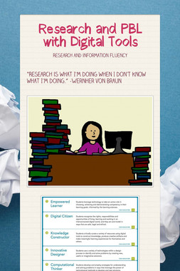 Research and PBL with Digital Tools