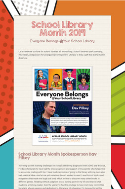 School Library Month 2019