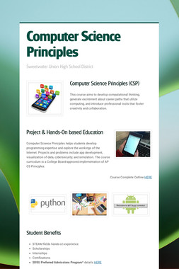 Computer Science Principles