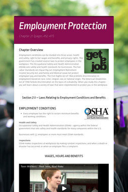 Employment Protection