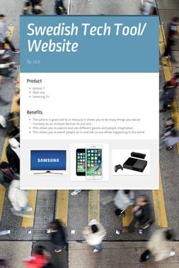 Swedish Tech Tool/ Website