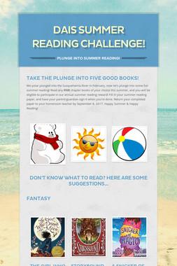 DAIS Summer Reading Challenge!