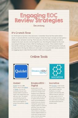 Engaging EOC Review Strategies