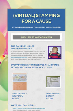 (virtual) Stamping For a Cause