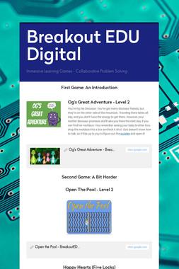 Breakout EDU Digital