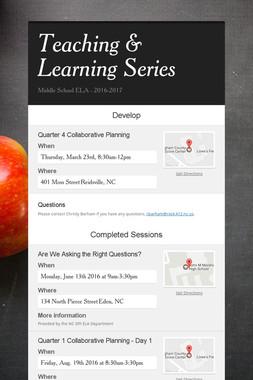 Teaching & Learning Series
