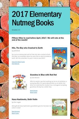 2017 Elementary Nutmeg Books