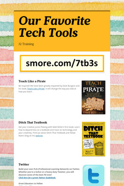 Our Favorite Tech Tools
