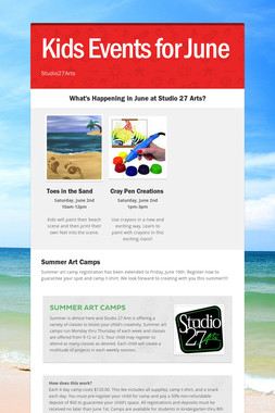 Kids Events for June