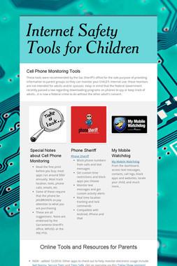 Internet Safety Tools for Children