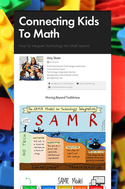 Connecting Kids To Math