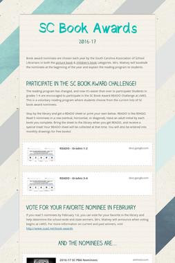 SC Book Awards