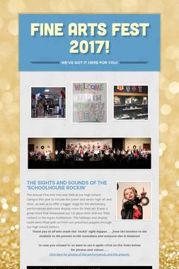 Fine Arts Fest 2017!