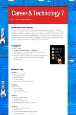 Career & Technology 7