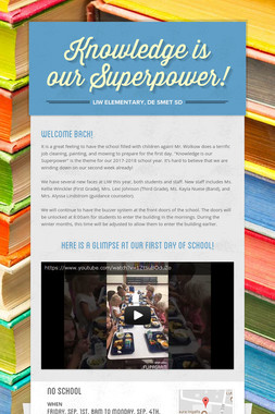 Knowledge is our Superpower!