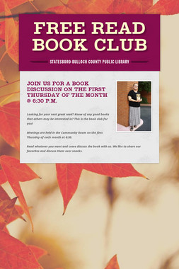 Free Read          Book Club