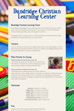 Dandridge Christian Learning Center