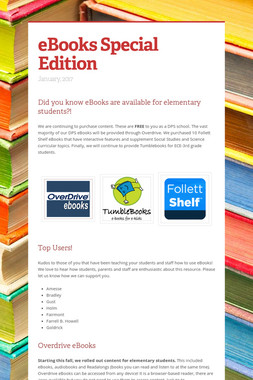 eBooks Special Edition