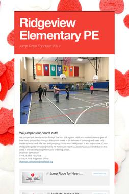 Ridgeview Elementary PE