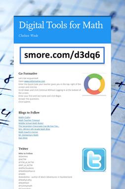 Digital Tools for Math