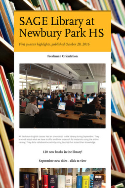 SAGE Library at Newbury Park HS
