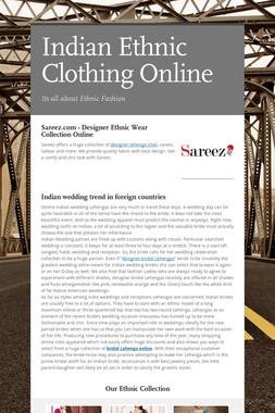 Indian Ethnic Clothing Online