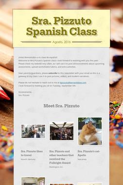 Sra. Pizzuto Spanish Class