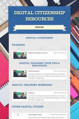 Digital Citizenship Resources