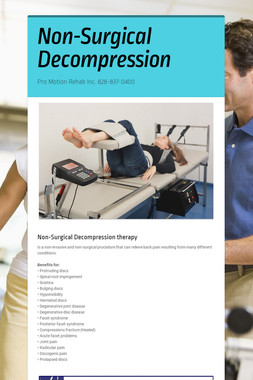 Non-Surgical Decompression