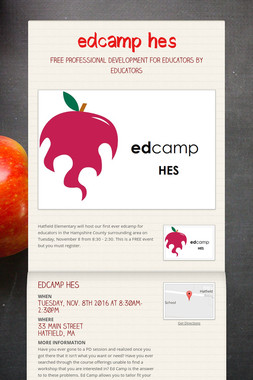 edcamp hes