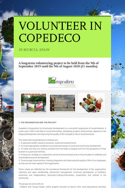 VOLUNTEER IN COPEDECO