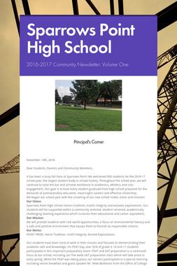 Sparrows Point High School